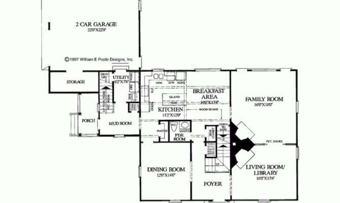 Salt Box Floor Plan Home Pinterest