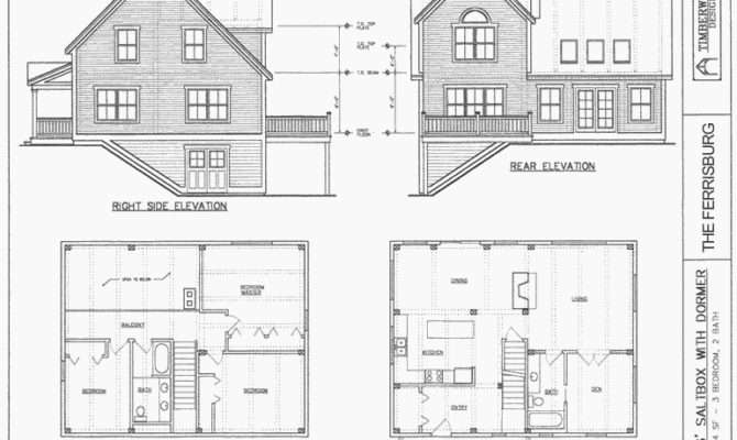 Salt Box House Plans Designs Builderhouseplans