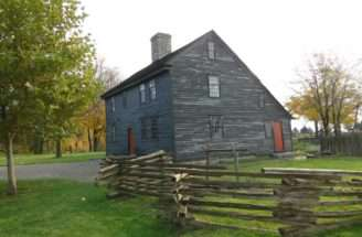 Saltbox House Connecticut Wells Dana