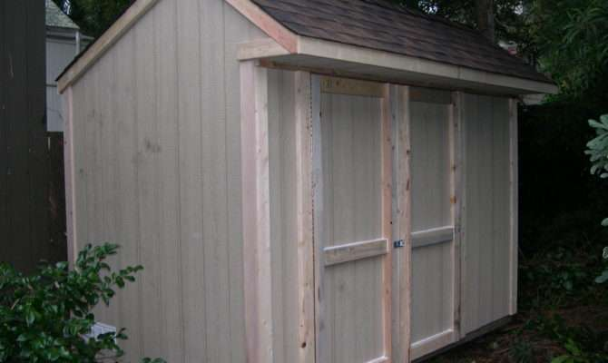 Saltbox Storage Shed Barn Plans Build Your Own