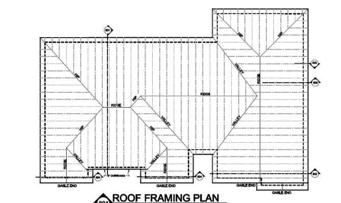 Sample House Plan Blueprints Framing Plans