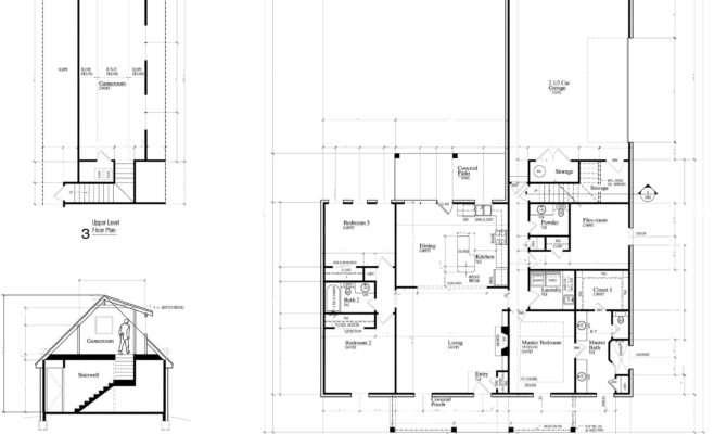 Sample New Home Floor Plans Parker Built Homes