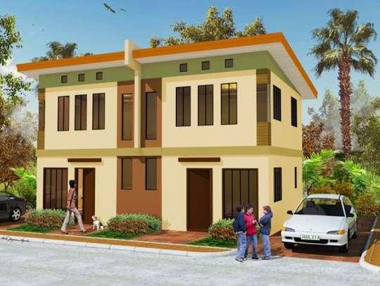 Sample Small Duplex House Philippines Joy Studio