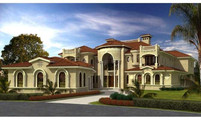 San Carlo Manor Spanish Home Plan House Plans