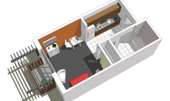San Jose Archer Studios Studio Apartment Plan