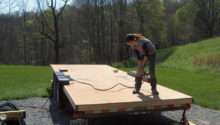 Sarah Working Foundation Her Home Trailer