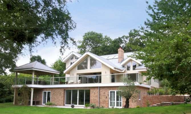 Scandia Hus Pines Timber Frame Contemporary Design