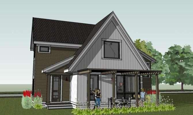 Scandinavian Cottage House Plan Scandia Modern