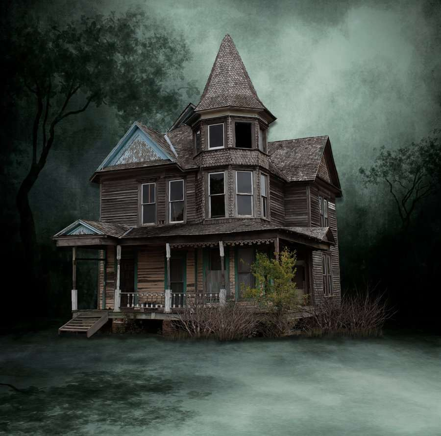 Scary Victorian House Design Style