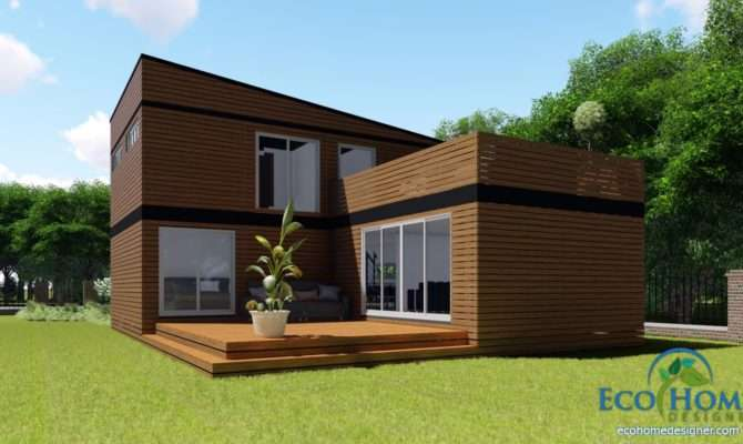 Sch Story Container Home Plans Eco