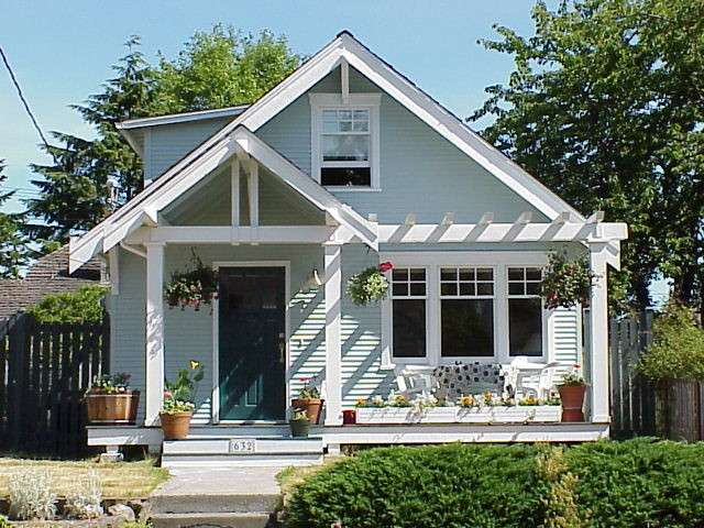 Seattle Exterior Facelift Craftsman Porch