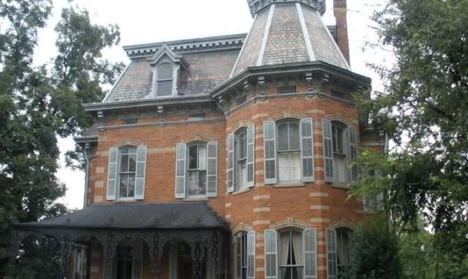 Second Empire Home Macon Georgia Homes Adore Pinterest