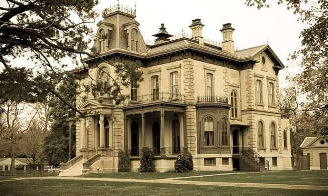 Second Empire Victorian Home Architecture Pinterest