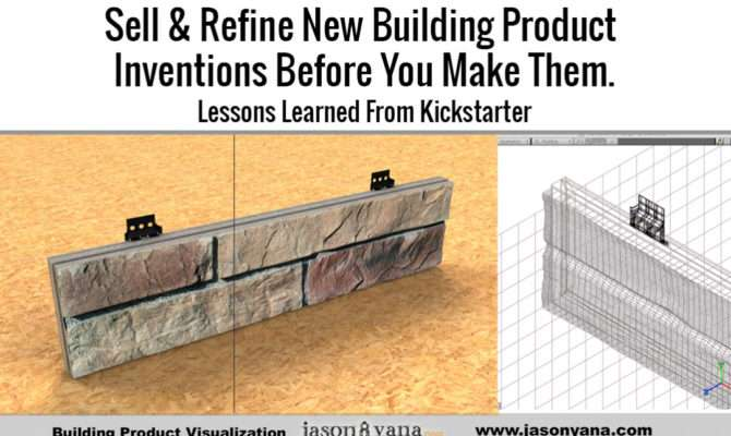 Sell Refine New Building Products Before