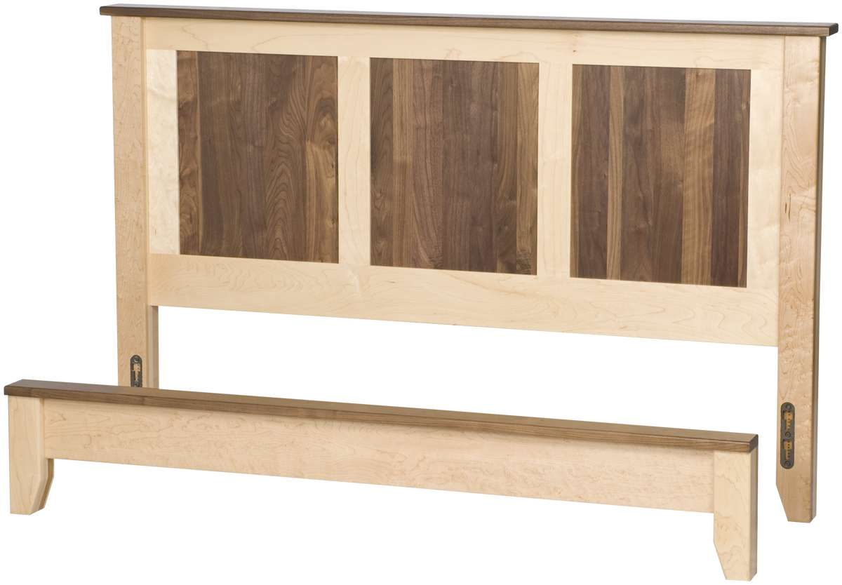 Shaker Platform Bed Solid Wood