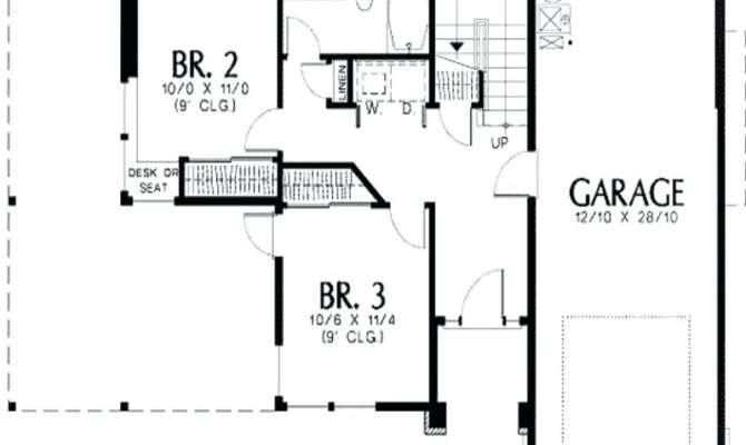 Shaped Farmhouse Floor Plans