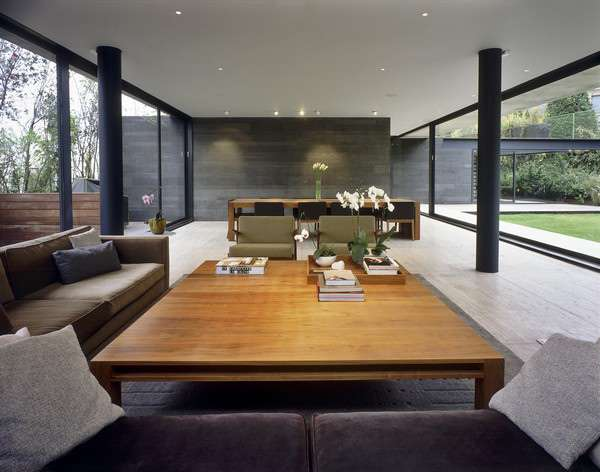 Shaped House Floor Plans Mexico City