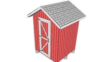 Shed Door Plans Outdoor Diy Wooden Playhouse Bbq