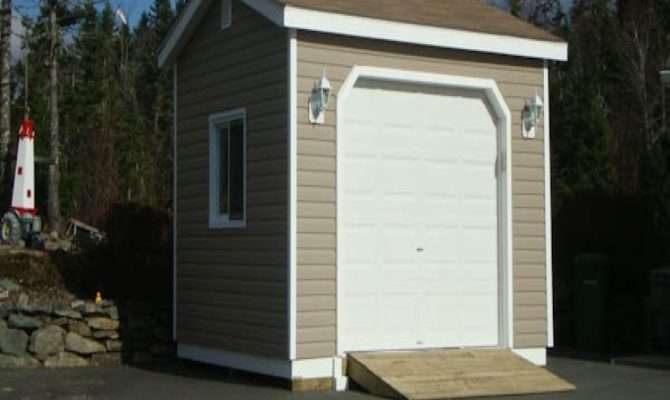 Shed Garage Doors Roof Plans