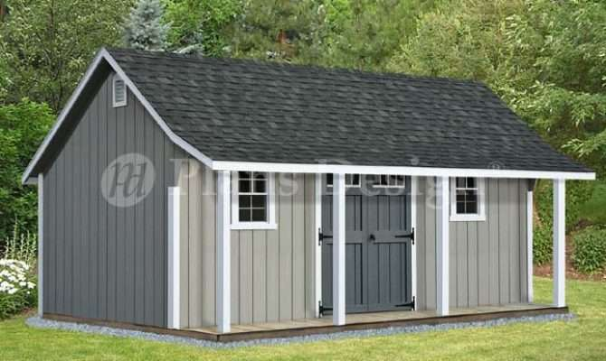 Shed Plans Wood Guide