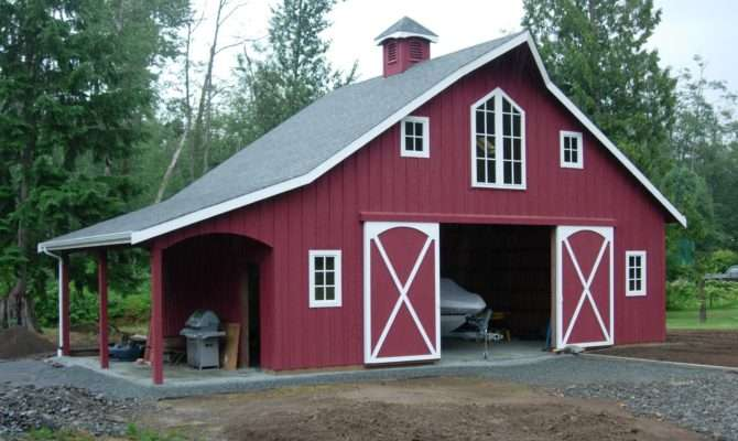 Shed Project More Flat Roof Pole Barn Plans