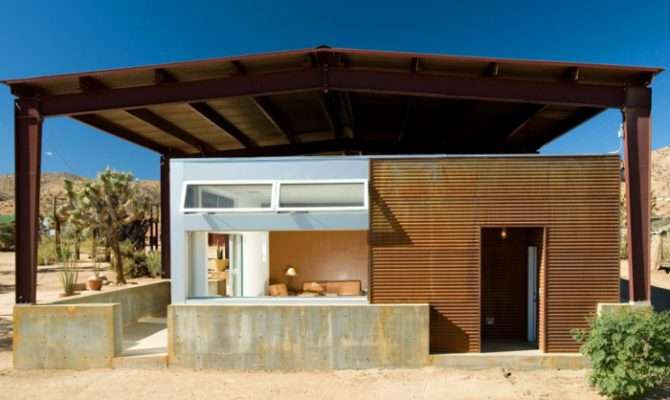 Shed Roof Covers Entire Residence Rimrock Ranch House Set