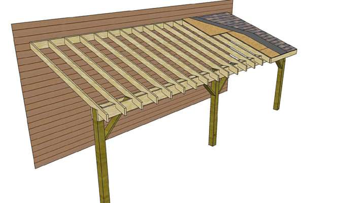 Shed Roof Plans Storage Barn Style