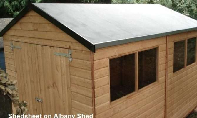 Shed Roof Style Best