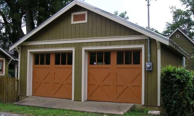 Shed Storage Ideas Craftsman House Plans Detached