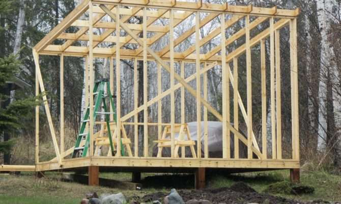 Shed Style Roof Construction March Plans
