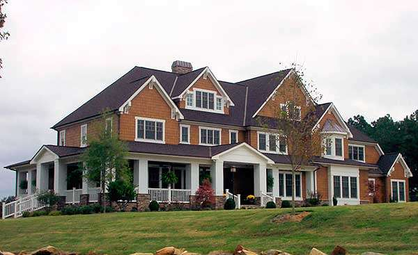 Shingle Style Home Plans Architectural Design