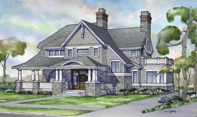 Shingle Style Home Plans Designs