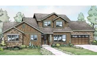 Shingle Style House Plans Cloverport Associated Designs