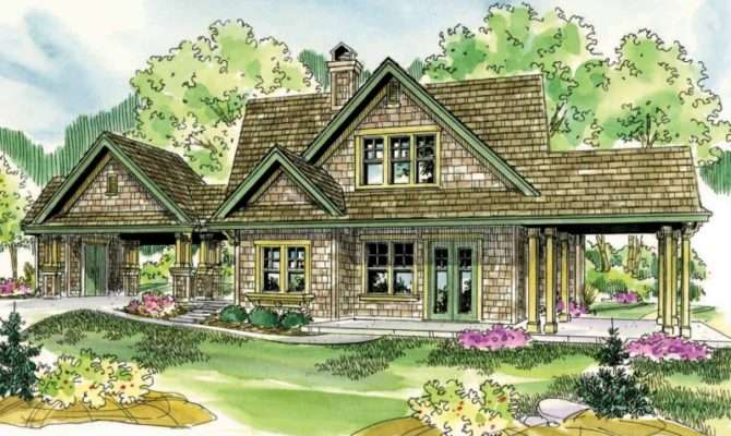 Shingle Style House Plans Longview Associated Designs