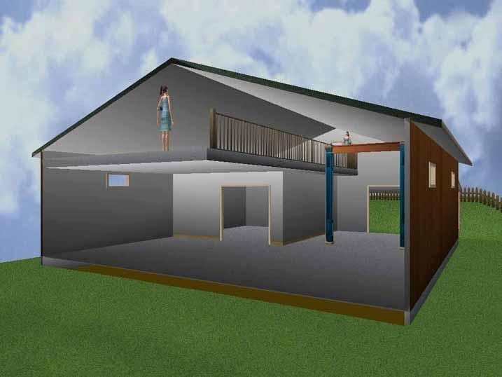Shop Living Quarters Plans Lzk Building