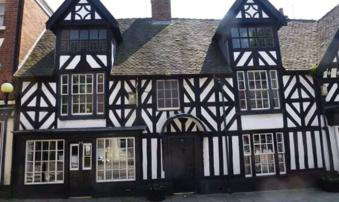 Shop Sale Tudor House Tea Rooms High Street Cheadle Stoke