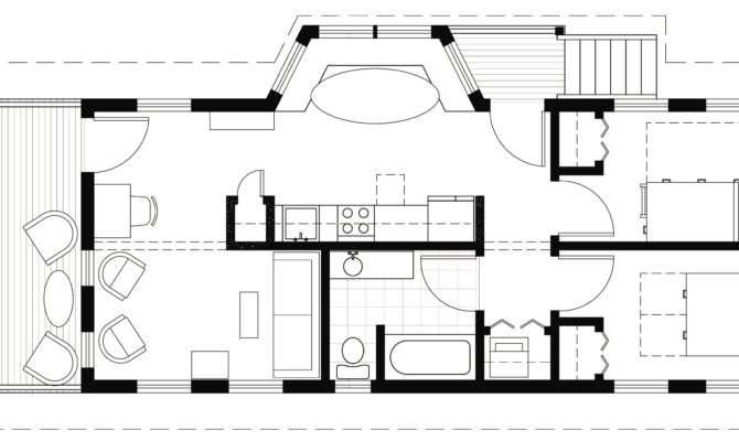 Shotgun House Interior