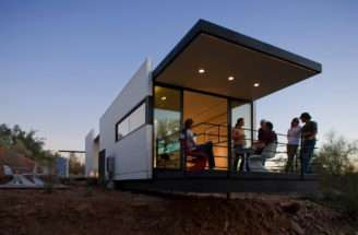 Siegal Developed Modfab Totally Self Sufficient House