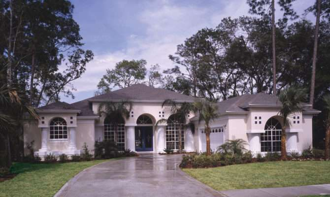 Siesta Hill Florida Style Home Plan House Plans More