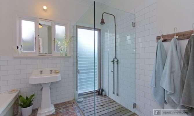 Simple Beach House Bathroom Lake Finishes Pinterest