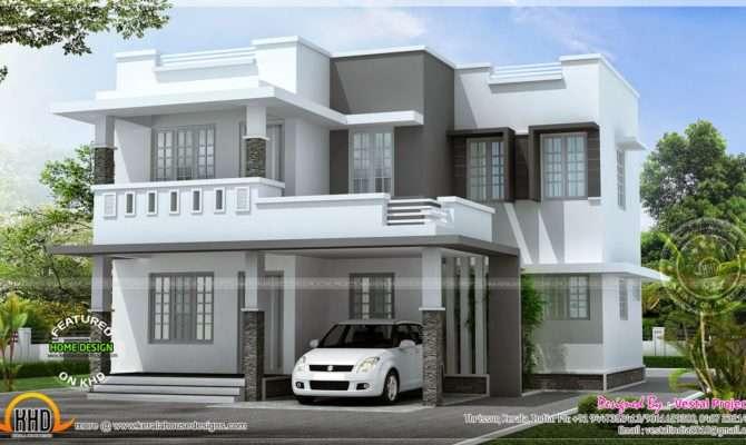 Simple Beautiful House Kerala Home Design Floor Plans