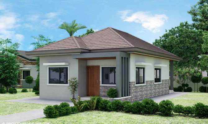 Simple Bedroom Bungalow House Design Pinoy