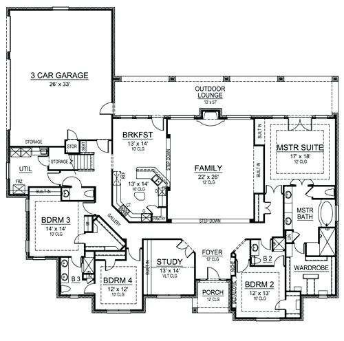 Simple Bedroom House Plans Zdrasti Club