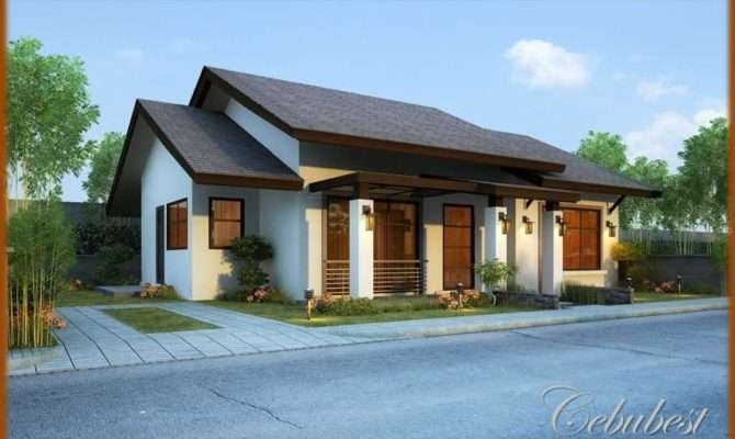 Simple Bungalow House Designs Brucall