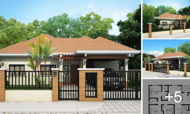 Simple Bungalow House Designs Homes Floor Plans Modern