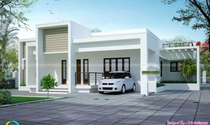 Simple But Beautiful One Floor Home Kerala Design