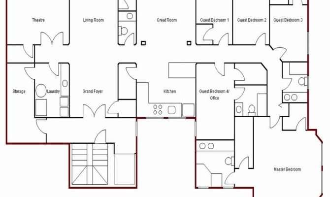 Simple Castle Floor Plan Becuo