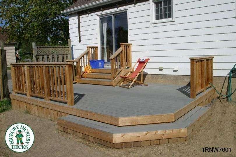 Simple Deck Plans Plan