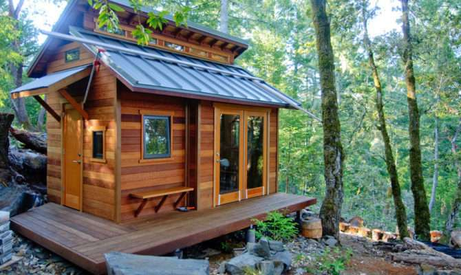Simple Easy Build Tiny House Plans