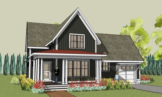 Simple Farmhouse Plan Main Floor Master Hudson